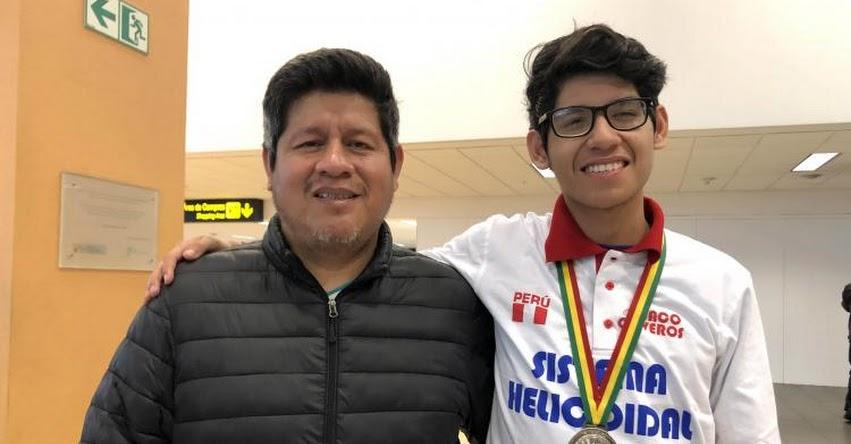 HÉCTOR RODRÍGUEZ ALFARO: Conoce al escolar peruano ganador de dos medallas de plata en olimpiadas internacionales de ciencias