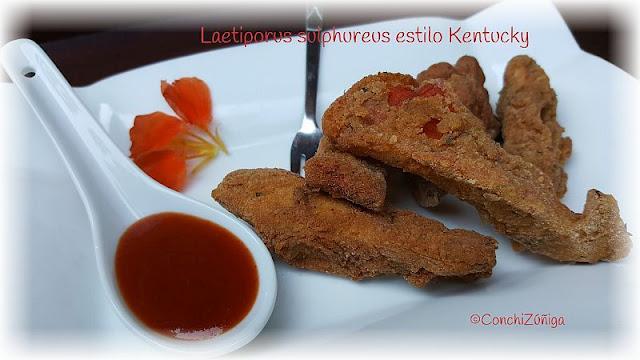 Laetiporus Sulphureus Estilo Kentucky