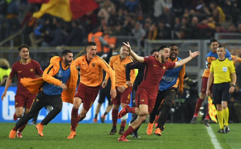 Barca vs Roma