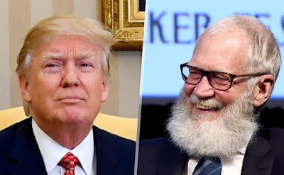 "President Trump's behavior is ""insulting to Americans"", he needs to be put in a home' - David Letterman"