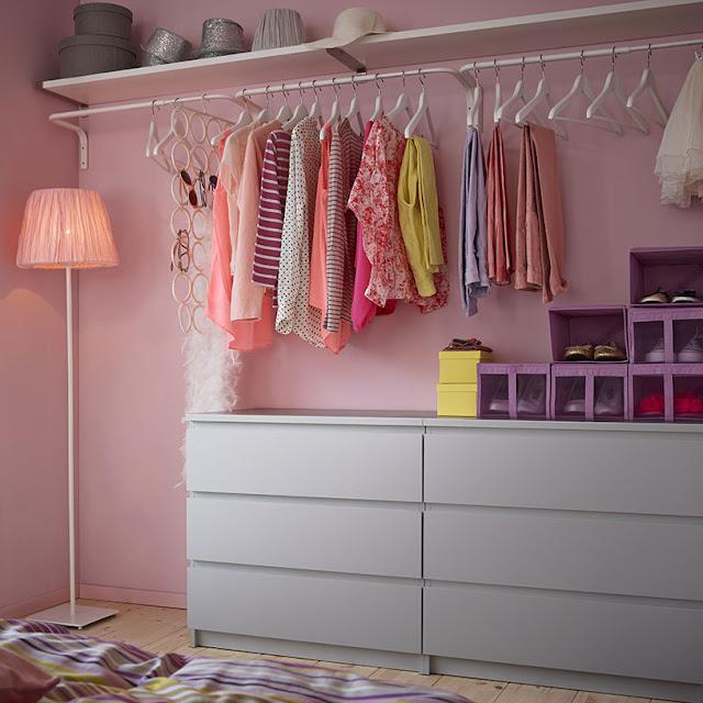 Tips Memilih Gantungan Baju Bersama Ikea