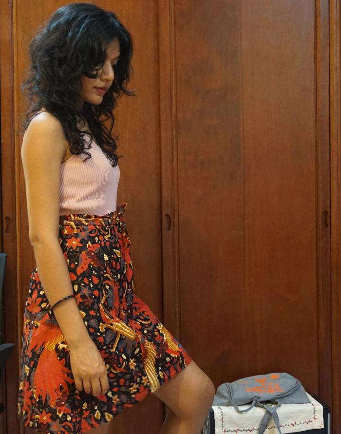 It's me in batik. Hi!