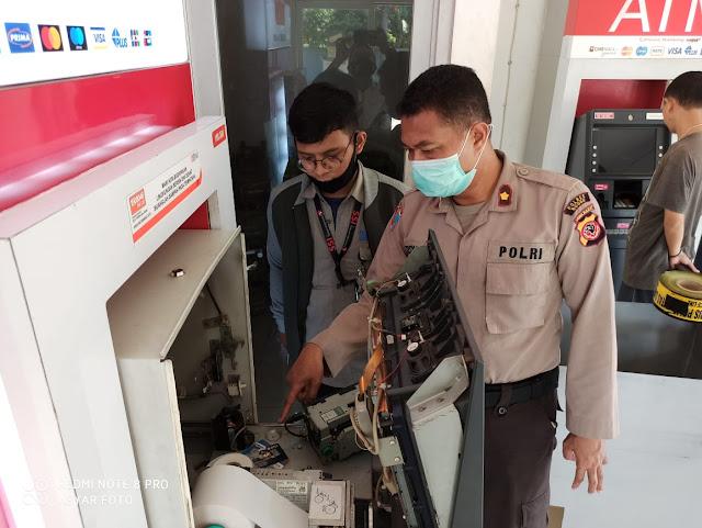 Kapolsek Cileungsi Nyaris Jadi Korban, Pelaku Ganjal ATM Dibekuk Polisi