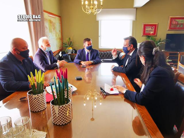 Συνάντηση του Υφυπουργού Τουρισμού με τον Αντιπεριφερειάχη Αργολίδας Ι. Μαλτέζο