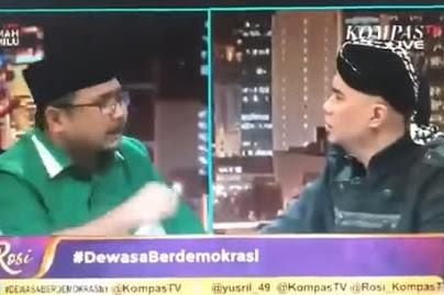 Gus Yaqut Akan 'Gebuk' Gerakan #2019GantiPresiden, Termasuk Dhani
