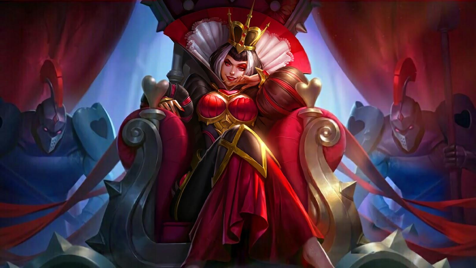Wallpaper Aurora Heartbreak Empress Skin Mobile Legends HD for PC