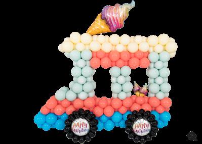 Ice-Cream Truck Decor by Chris Adamo
