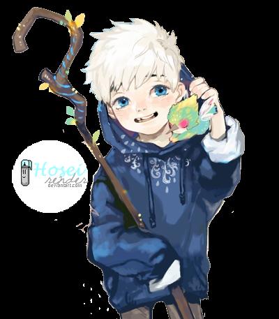+ Jack Frost RENDER  BY  Hosei-kun