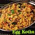 Madurai Style Egg Kothu Idli/ Madurai special Muttai Kothu Idli/ Breakfast recipes