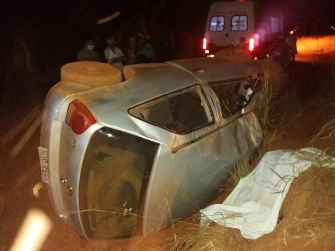 Homem morre em acidente em Acorizal após ingerir bebida alcoólica