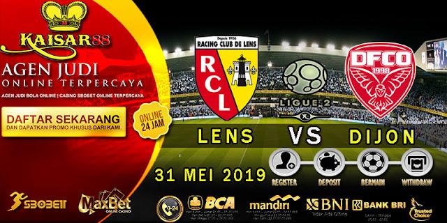 Prediksi Bola Terpercaya Liga French Ligue 2 Lens vs Dijon 31 Mei 2019
