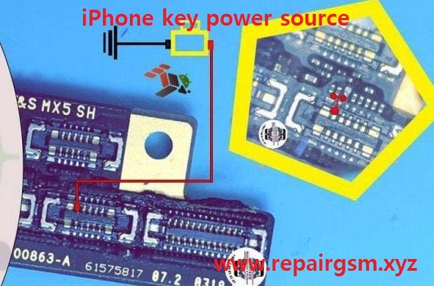iPhone key power source
