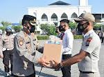 Kapolresta Sidoarjo Bekali Paket Kesehatan Anggota dan ASN Hadapi Covid-19