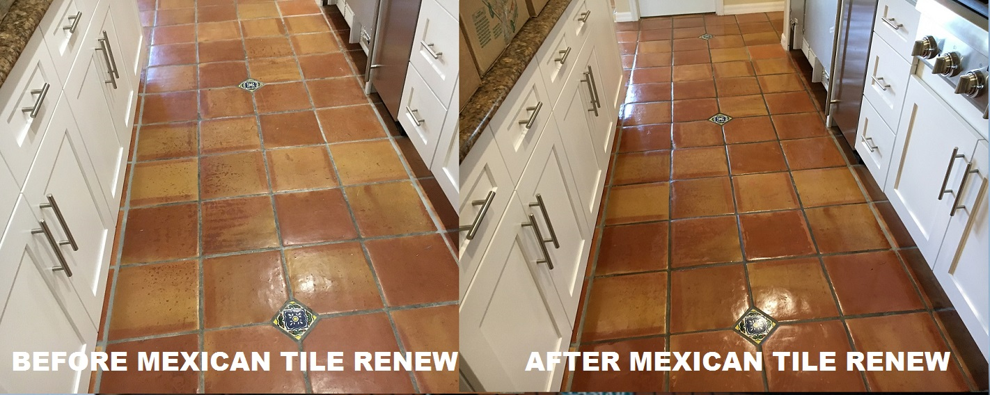 Mexican tile renew sarasota fl cleaning sealing mexican tile renew project at upscale home on the water siesta key fl mexican tile also known as saltillo tile is a very porous clay tile that requires doublecrazyfo Gallery
