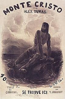 THE COUNT OF MONTE CRISTO - BOOK COVER