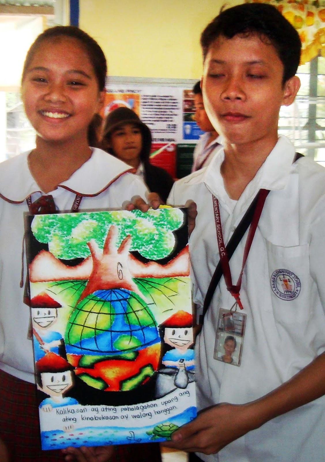 Poster Making Contest Winners Ating Pahalagahan Sariling Likas Na Yaman