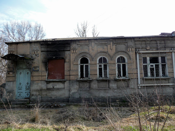 Слов'янськ. Колишній будинок Проскурякова. Колишній будинок культури глухих
