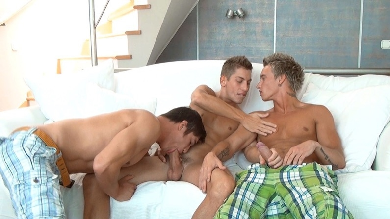 Jim Kerouac, Dario Dolce & Billy Cotton ,Part 2 (Bareback)