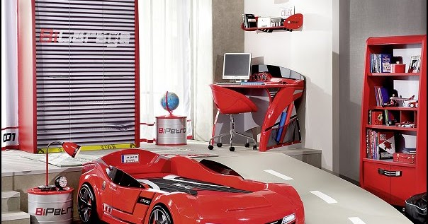 Decorating theme bedrooms maries manor car beds car for Construction themed bedroom ideas