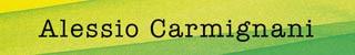 Il banner del blog di Alessio Carmignani
