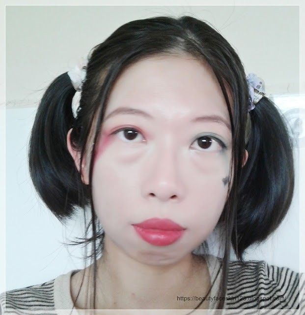 HARLEY QUINN SUICIDE SQUAD INSPIRED MAKEUP ON ASIAN FACE