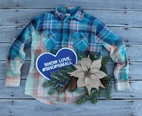 gypsy farm girl distressed flannel shirt