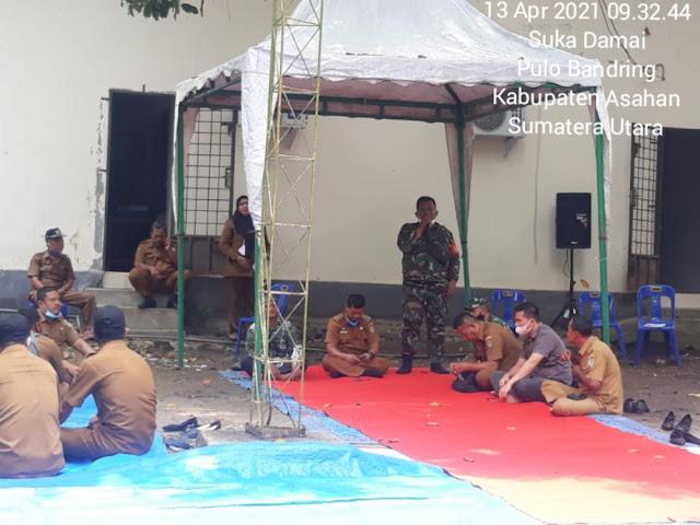 Dalam Rangka Menyambut Bulan Suci Ramadhan, Personel jajaran Kodim 0208/Asahan Hadiri Doa Bersama