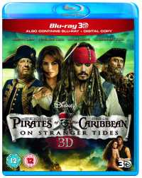 Pirates Of The Caribbean 4 (2011) 3D Movies Hindi + Eng + Telugu + Tamil HSBS