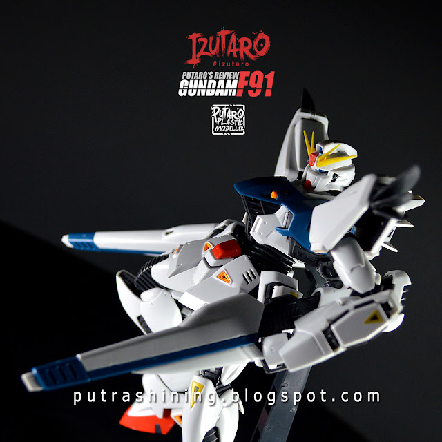 MG 1/100 GUNDAM F91 2.0 REVIEW by Putra Shining