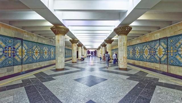 Metro von Taschkent