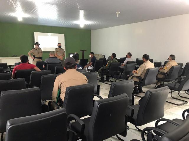 ARAGUATINS: Comando do 9º BPM reúne com sargentos convocados para a realização do CAS-2020 da PMTO