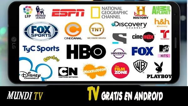 MUNDI TV Apk NUEVA Aplicación Para Ver Televisión en Vivo, Canales de ADULTOS, Películas y Series