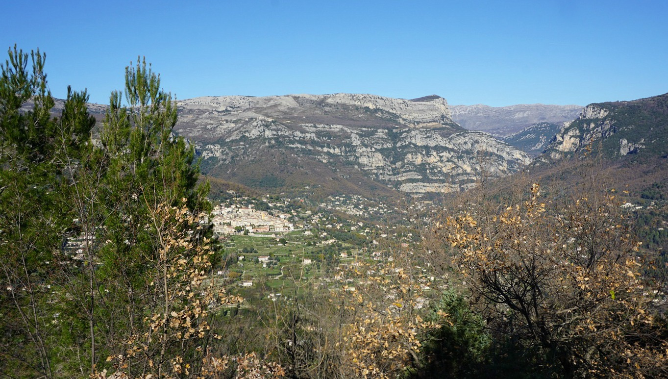 Loup River Valley seen from Camp Romain