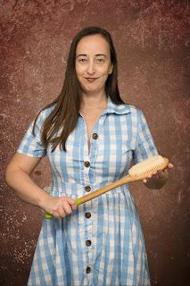 Professional Disciplinarian bathbrush spanking