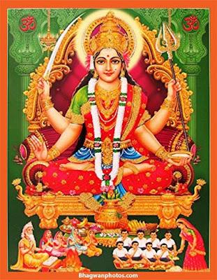Santoshi Maa Images Wallpaper