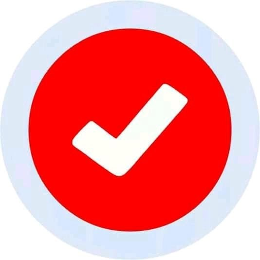 pp centang fb ori, foto profil facebook logo gambar ceklis
