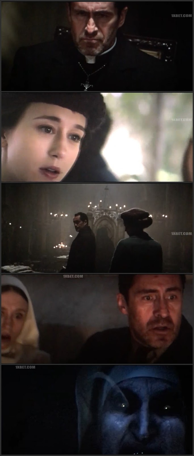 The Nun (2018) Dual Audio Hindi 480p HDCAM 300MB