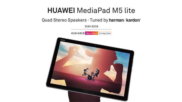 Huawei MediaPad M5 Lite launched in India, featuring 7500mAh battery and Stylus, Know Price and Availability in India