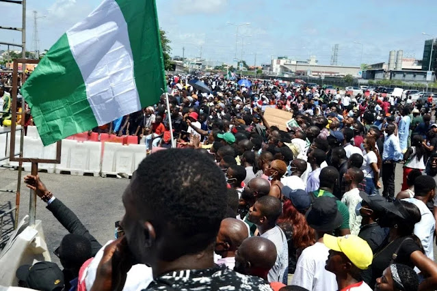 #DefendLagos campaigners withdraw from Lekki counter protest