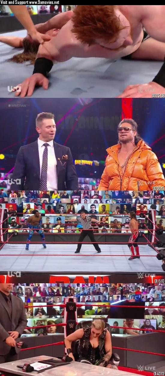 WWE Monday Night Raw 29 March 2021 HDTV 720p 480p 500MB