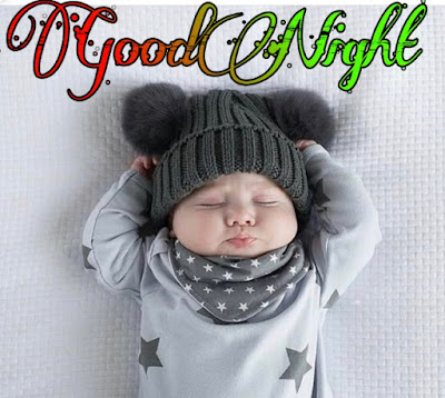 cute baby good night image pics Download free hd