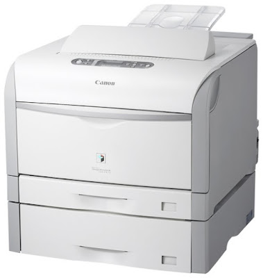 Productive coloring as well as dark as well as white prints at upwardly to  Canon i-SENSYS LBP5975 Driver Downloads