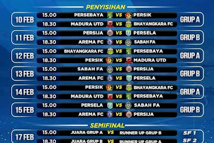Catat ! Jadwal Piala Gubernur Jawa Timur 2020 di MNC Tv