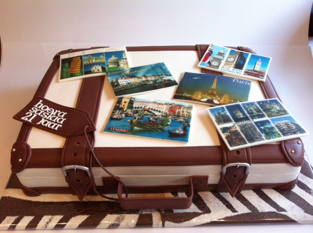 taart koffer Koffer taart | Taarten; Gemaakt door Jonne taart koffer