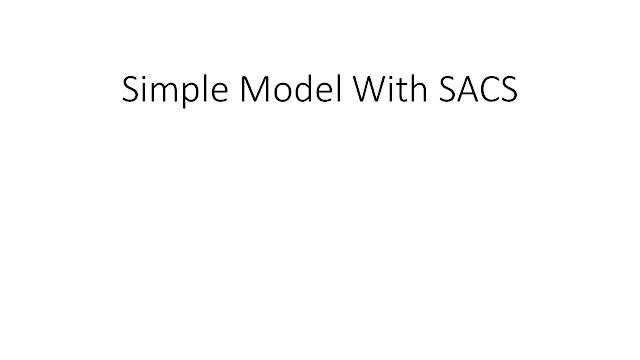 Simple Model with SACS
