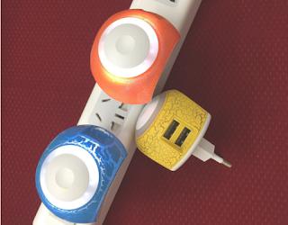 LUCE LED CARICA DOPPIA USB
