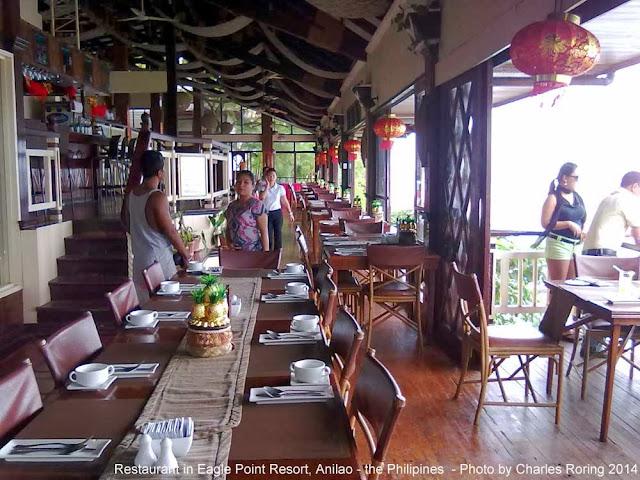 Restoran di Eagle Point Resort