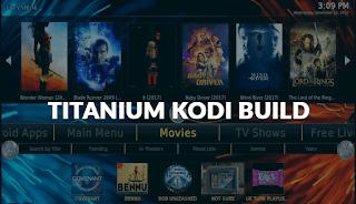 Titanium, build for Kodi