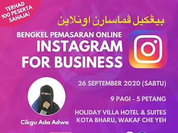 Bengkel Menggunakan Instagram untuk Bisnes di Kelantan