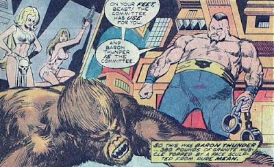 Werewolf by Night #20, Baron Thunder